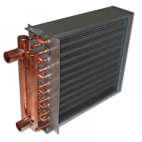 Zephaire - Air-to-Water Heat Exchangers w/ Flange (Slab-Only)
