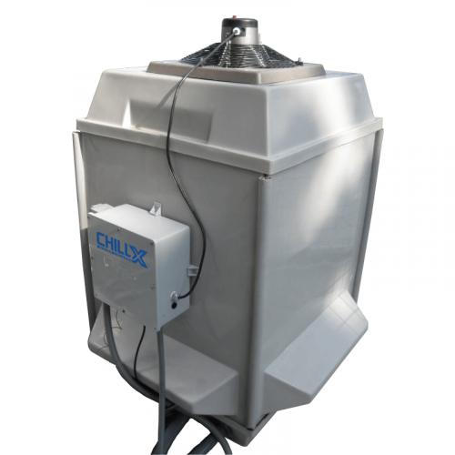 ChillX - Closed Loop Evaporative Fluid Cooler - Front