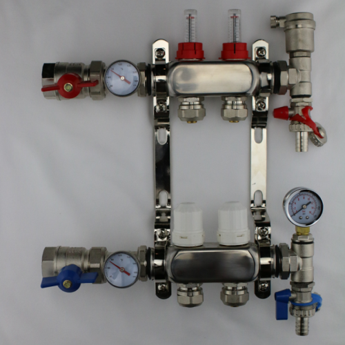 Port-All Manifolds - Brass Manifolds For PEX
